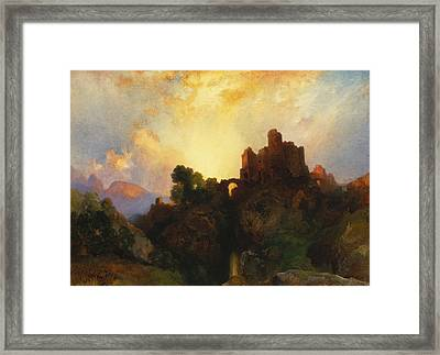 Caledonia Framed Print by Thomas Moran