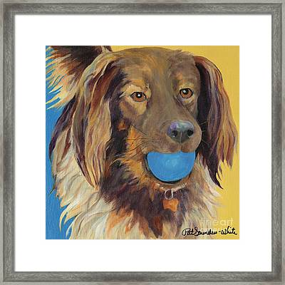 Caleigh Framed Print by Pat Saunders-White