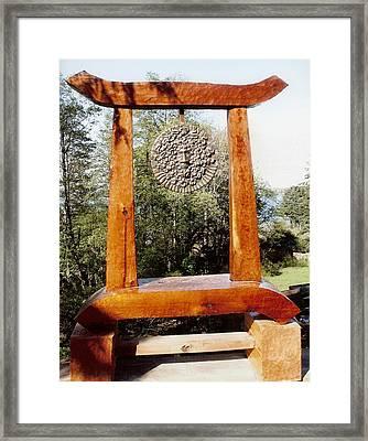 Calekus Portal Framed Print by Eric Singleton