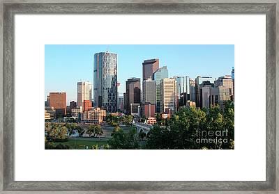 Calgary 2 Framed Print