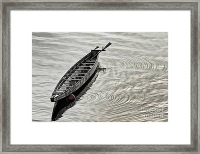 Calgary Dragon Boat Framed Print