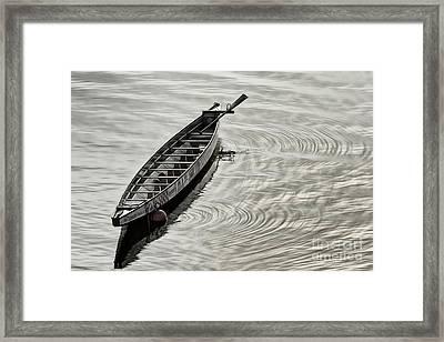 Calgary Dragon Boat Framed Print by Brad Allen Fine Art