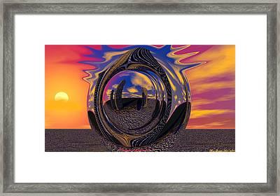 Calgary Expansion Framed Print by Wayne Bonney