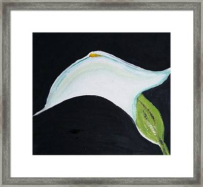 Framed Print featuring the painting Cali Lily Pride by Carol Duarte