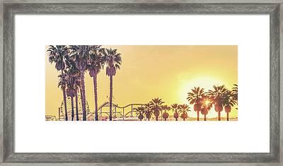 Cali Vibes Framed Print