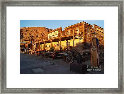 Calico Ghost Town In California Framed Print by Timea Mazug