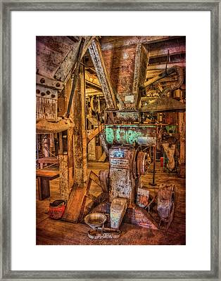 California Pellet Mill Co Framed Print