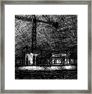 California 2800w Framed Print