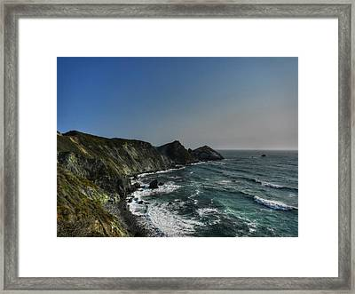 California - Big Sur 008 Framed Print by Lance Vaughn