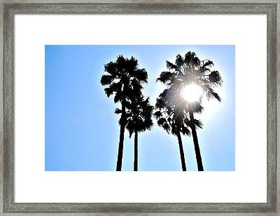 California Framed Print by Christopher Woods
