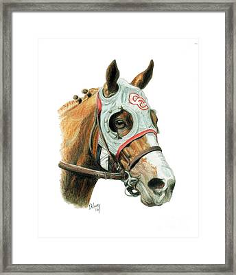 California Chrome  2016 Framed Print