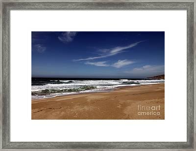 California Coast Framed Print by Amanda Barcon
