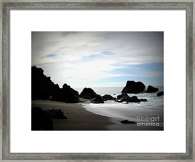 California Coast Iv Framed Print