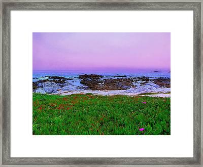 California Coast Framed Print by Jen White