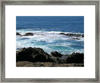 California Coast Framed Print