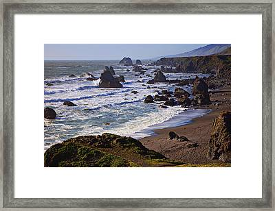 California Coast Sonoma Framed Print by Garry Gay