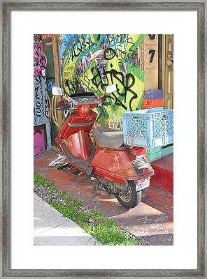 California Colors Framed Print by Todd Sherlock