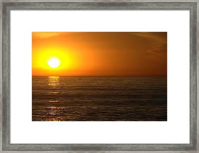 California Dream Framed Print by Brad Scott