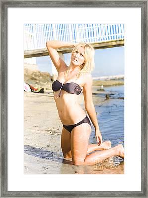 California Dreamboat Framed Print by Jorgo Photography - Wall Art Gallery