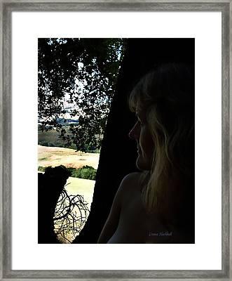 California Dreamin Framed Print by Donna Blackhall