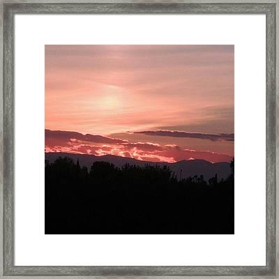 California Dreamin Framed Print