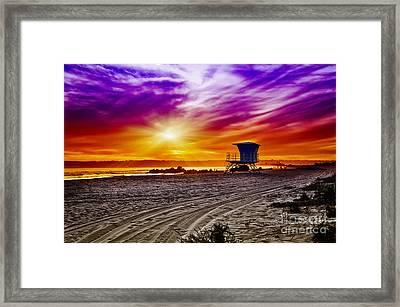 California Dreaming Framed Print by Alessandro Giorgi Art Photography