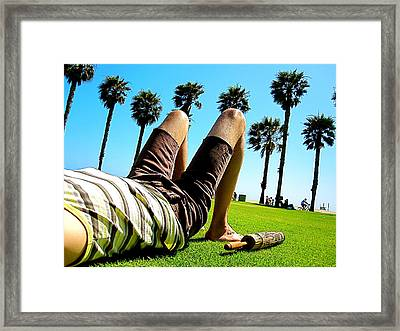 California Dreaming Framed Print by Amber Abbott