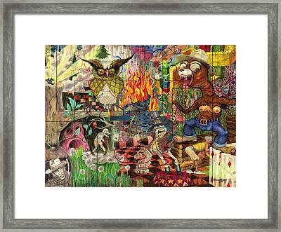 California Dreaming Framed Print by Brian Child