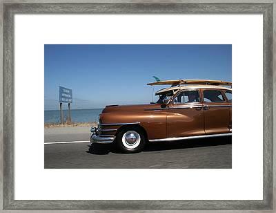 California Dreaming Framed Print by Linda Russell