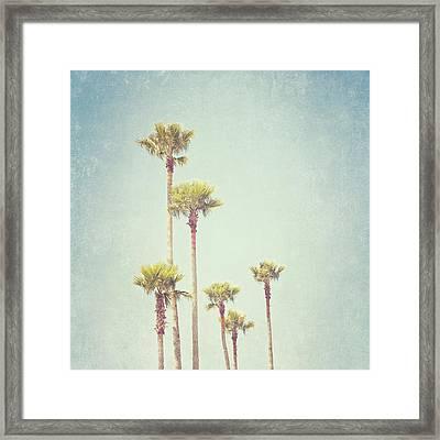 California Dreaming - Palm Tree Print Framed Print