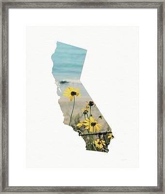Framed Print featuring the mixed media California Dreams Art By Linda Woods by Linda Woods