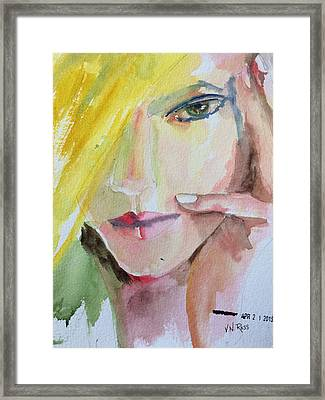 California Girl Framed Print by Vicki Ross