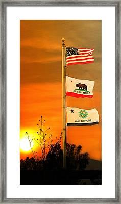 California Glory Framed Print by Richard Gordon
