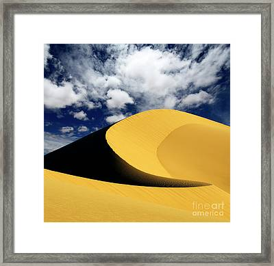 California Gold Framed Print by Bob Christopher