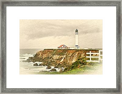 California - Point Arena Lighthouse Framed Print