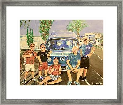 California Rednecks Framed Print