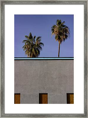 California Rooftop Framed Print