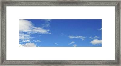 California Sky Framed Print