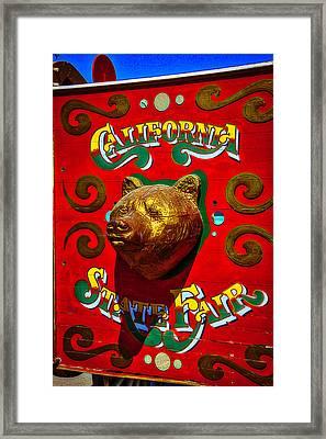 California State Fair Framed Print