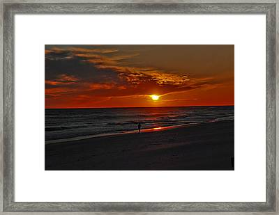 California Sun Framed Print by Susanne Van Hulst