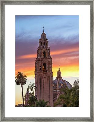 California Sunset #2 Framed Print