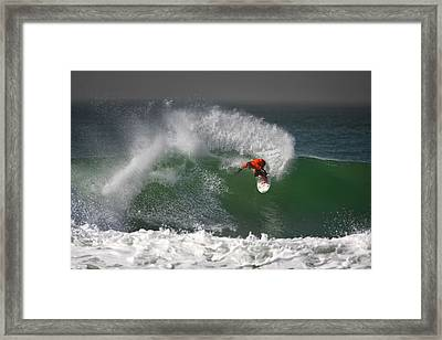 California Surfing 2 Framed Print by Larry Marshall