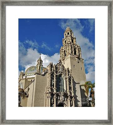 California Tower 2010 Framed Print by Jasna Gopic