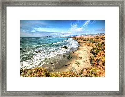 California's Central Coastline Framed Print