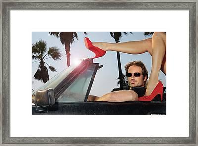 Californication 1920x1200 007 Framed Print