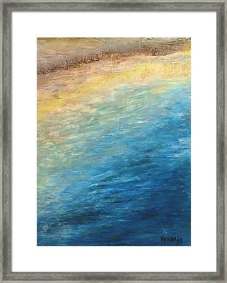 Framed Print featuring the painting Calipso by Norma Duch