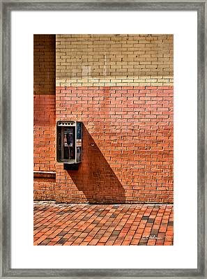 Call Me Framed Print