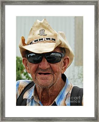 Call Me Cowboy Framed Print
