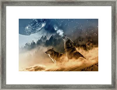 Call Of Nature Framed Print by Inspired Images