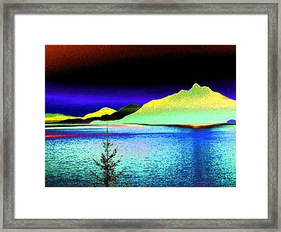 Call Of The Coast Framed Print by Will Borden